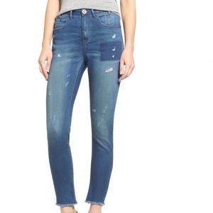 One Teaspoon Scallywags' High Waist Skinny Jean